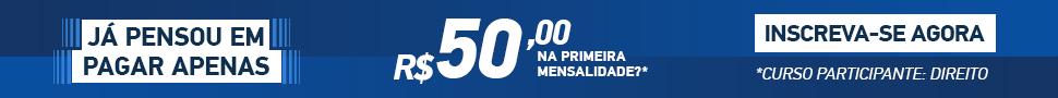 Matrícula R$50,00